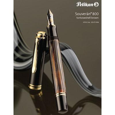 Pelikan M800 Brown Tortoiseshell Special Edition