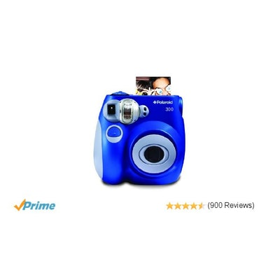 Amazon.com : Polaroid PIC-300 Instant Film Camera (Blue) : Instant Film Cameras