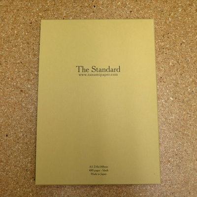 """Seven Seas """"STANDARD"""" A5 Blank Journal 2nd Edition - Nanami Paper and Supply"""