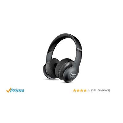 Amazon.com: JBL Everest 300 Wireless Bluetooth On-Ear Headphones (Black): Electr
