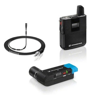 Sennheiser AVX-MKE2 SET - Camera extern wireless lavalier microphone system - Au