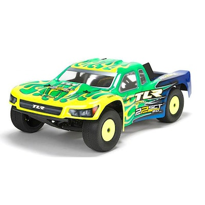 22SCT 2.0 Race Kit: 1/10 2WD Short Course Truck (TLR03003): Team Losi Racing22SC