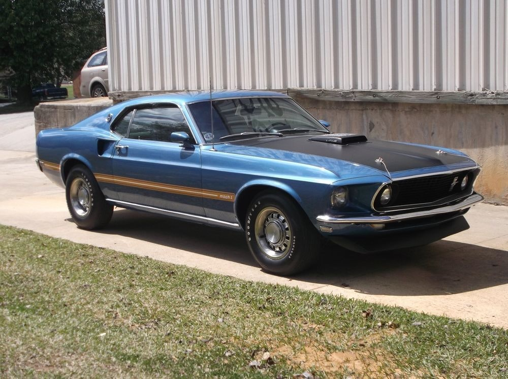 1969 Ford Mustang Mach 1 Track Pack  | eBay