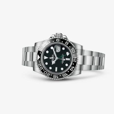 Rolex GMT-Master II Watch: Oystersteel – 116710LN