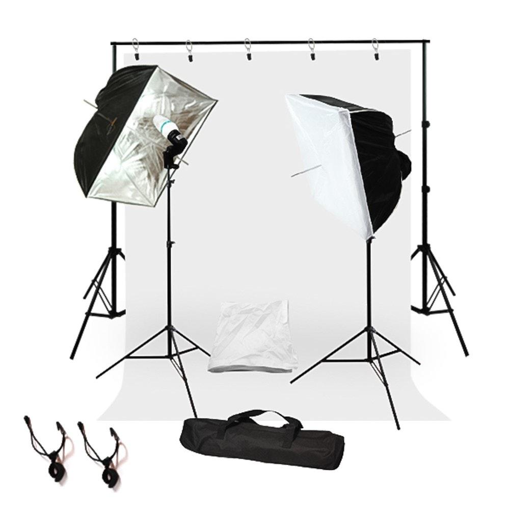 Complete Studio Lighting Backdrop Stand Background Light Kit GLC011 | Jet.com