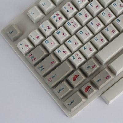 Enjoypbt Japanese 117 keycaps Dye-Subbed Keycap Set