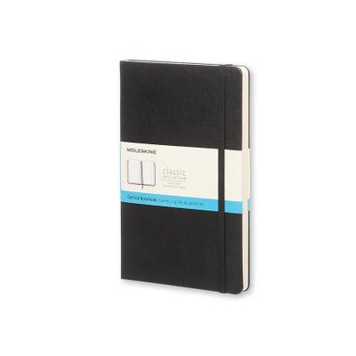 Notebook Large Dotted Black Hard Cover - Moleskine ®