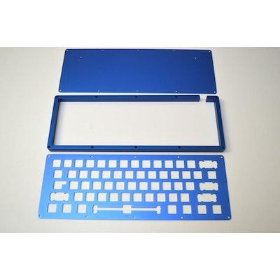 DIY LJD61UP Keyboard - Aluminum Blue, 1Up Keyboards