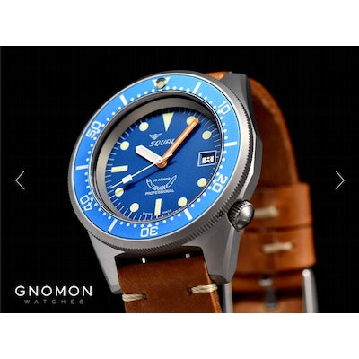 Squale Watches - 50 ATMOS Blue Opaco - Super Matte