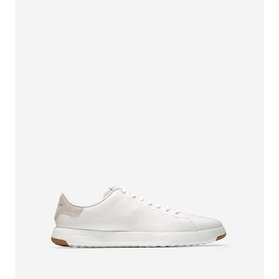 Mens GrandPro Tennis Sneakers in White   Cole Haan