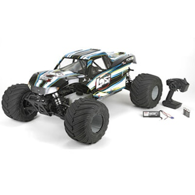 Losi: Monster Truck XL RTR, AVC: 1/5 4WD (White): Losi (LOS05009T2)