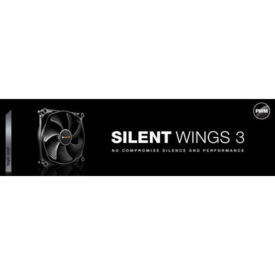 Silent 120mm fan SILENT WINGS 3 | 120mm PWM by be quiet!