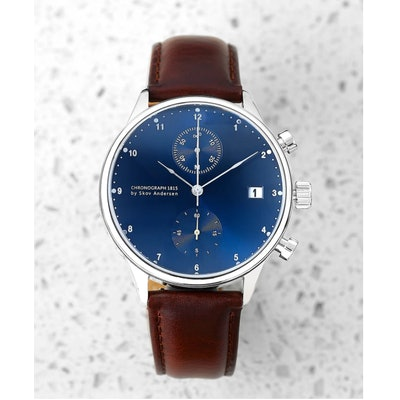 1815 Chronograph, Steel / Blue Sunray – About Vintage (Worldwide)