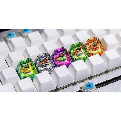 Spaceship keycap