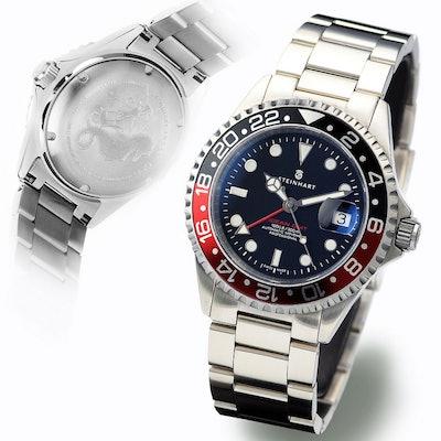 Steinhart Watches GMT-OCEAN 1 BLACK RED