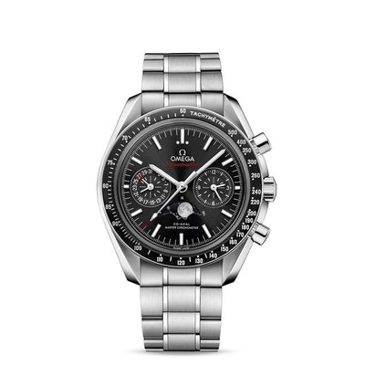 Speedmaster Moonwatch OMEGA Co-Axial Master Chronometer Moonphase Chronograph 44