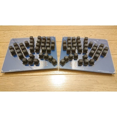 TL Split Keyboard 18mm Rev1   遊舎工房