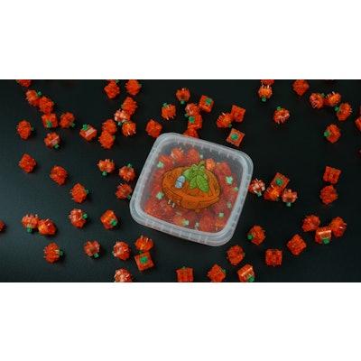 C³Equalz X TKC Tangerine Switches – TheKey.Company