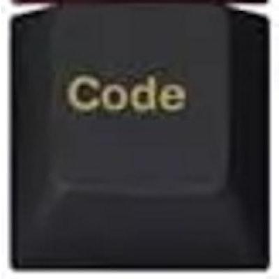 Bottom Row 1u Code Keycap for Tsangan/HHKB layout