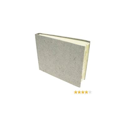 Amazon.com: Khadi Handmade Hardback Book 13 x 16 cm White Smooth by Khadi Papers