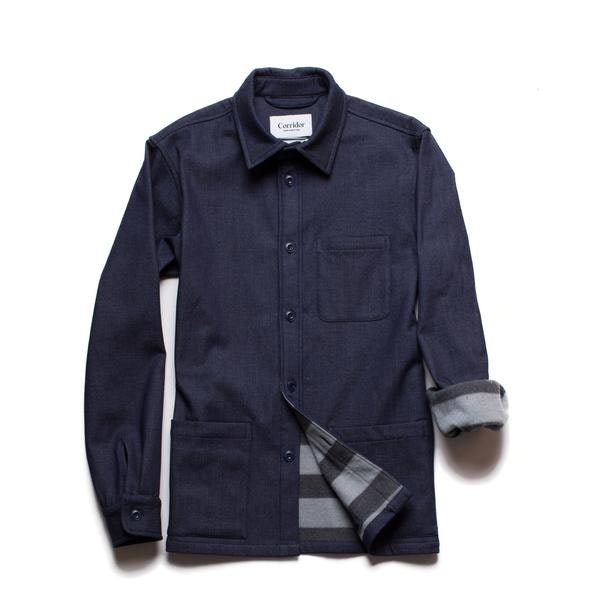 Denim Lined Overshirt – Corridor