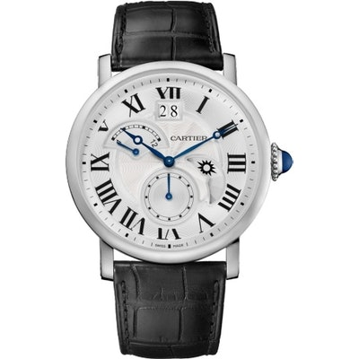 ROTONDE DE CARTIER WATCH, LARGE DATE, RETROGRADE SECOND TIME ZONE AND DAY NIGHT