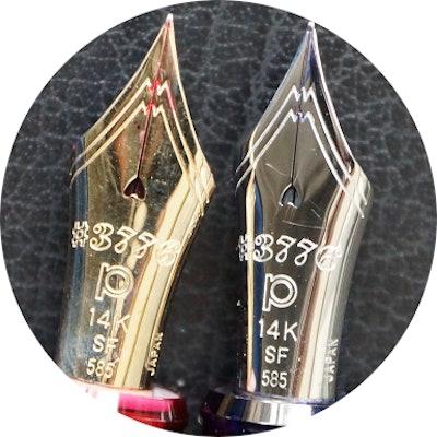 Platinum #3776 Soft Fine nib
