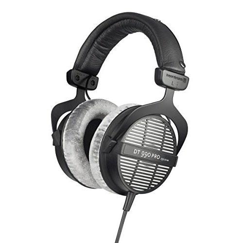 Beyerdynamic DT-990-Pro-250 Professional Acoustically Open Headphones For Monito