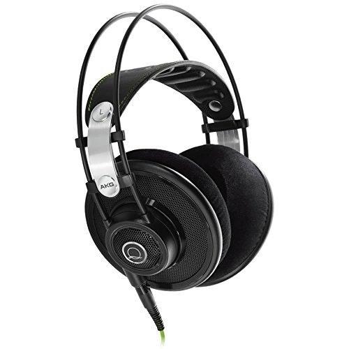 AKG Q 701 Quincy Jones Signature Reference-Class Premium Headphones - Black: Ele