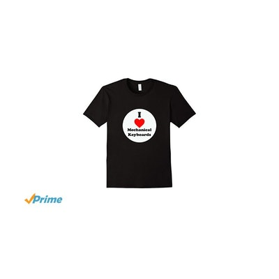 Amazon.com: I Love Mechanical Keyboards Classic Fit T Shirt: Clothing