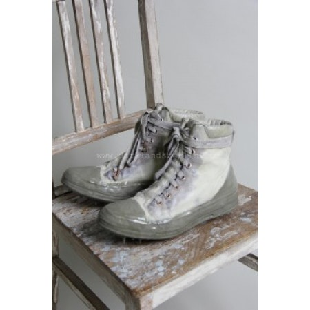 CCP Object Dyed, No Seam, Drip Rubber Leather Sneaker