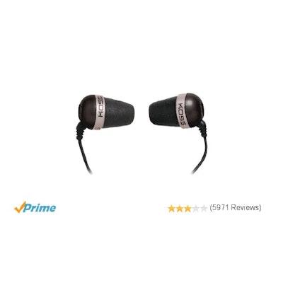 Amazon.com: Koss 'The Plug' In-Ear Headphones (Black): Plug: Electronics