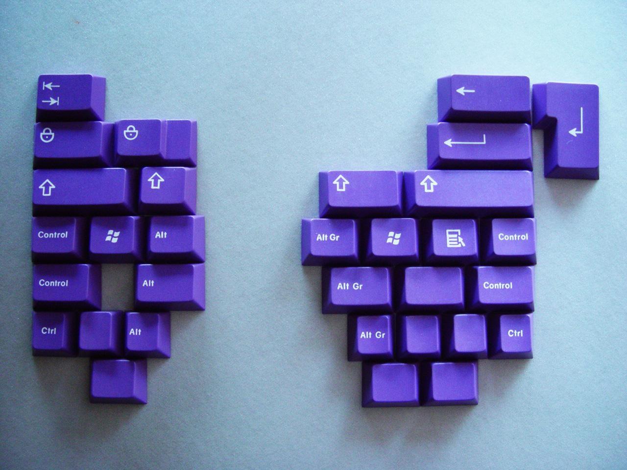 GMK purple modifiers