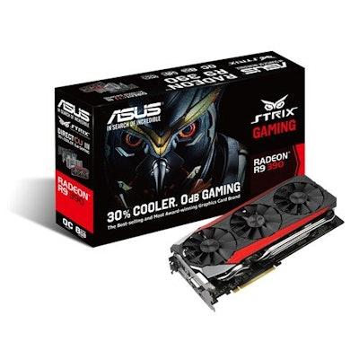 Amazon.com: ASUS STRIX Radeon R9 390 Overclocked 8 GB DDR5 512-bit DisplayPort H