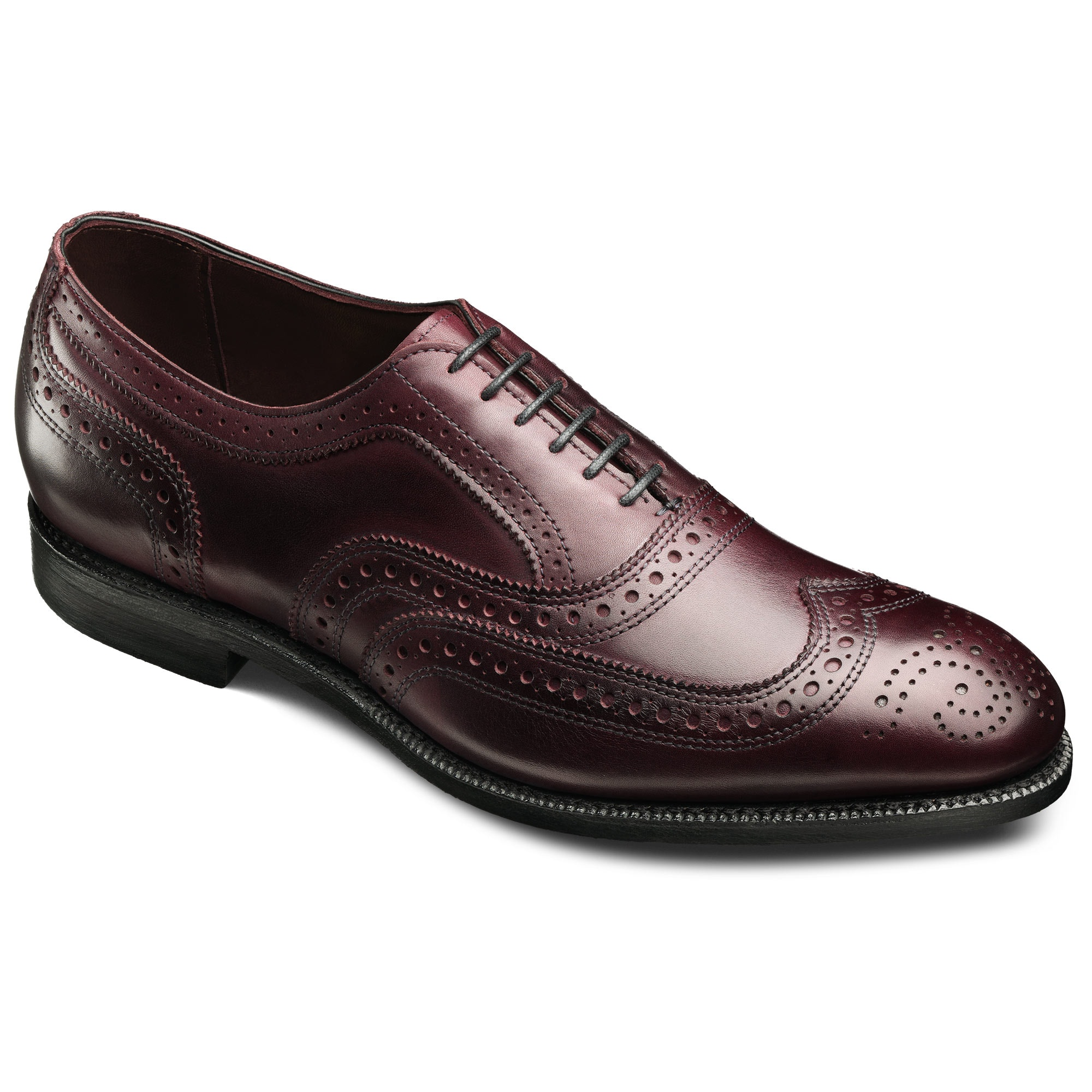 Jefferson 2.0 - Wingtip Lace-up Oxford Men's Dress Shoes by Allen Edmonds