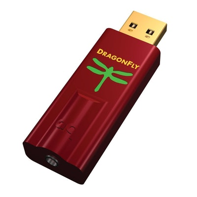 AudioQuest DragonFly Red USB DAC, Preamp, Headphone Amp: Electronics