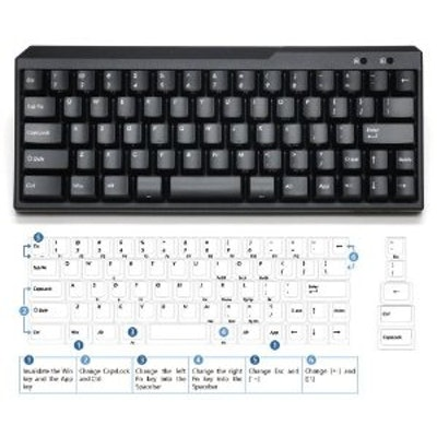 Amazon.com: USA Majestouch MINILA 67 Key Tactile Action Keyboard FFKB67M/EB: Com