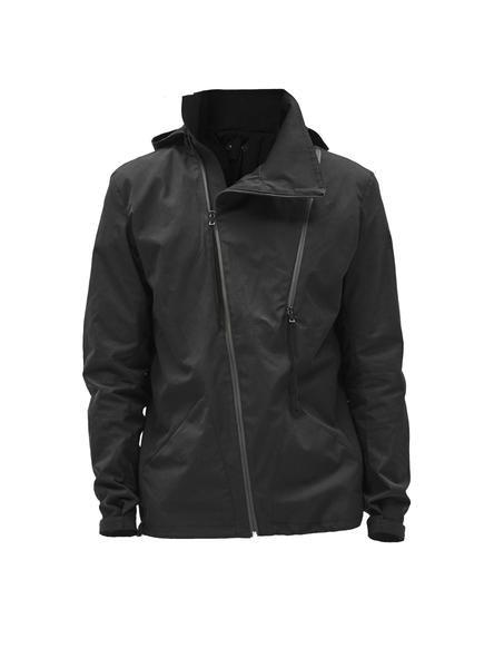 eurria asymmetrical stotz etaproof jacket black – enfin leve