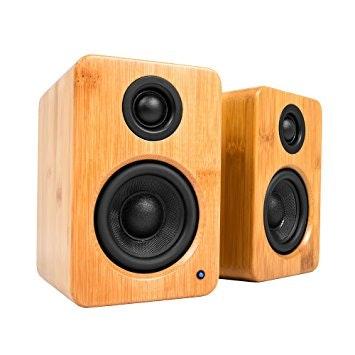 Kanto YU2 Speakers (Bamboo)