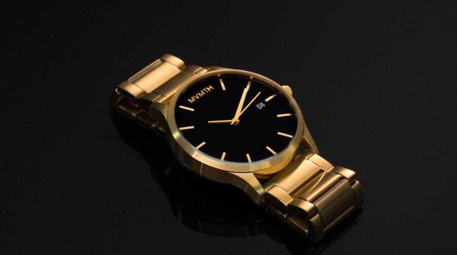 MVMT BLACK/GOLD Watch