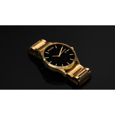MVMT BLACK/GOLD Watch