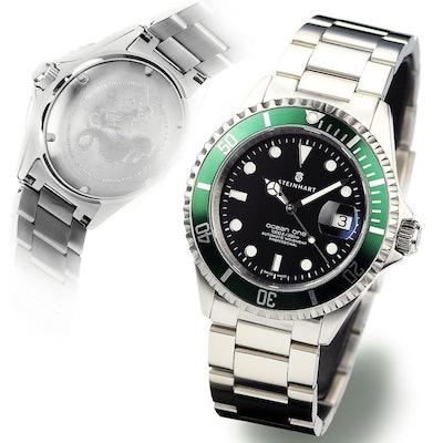 STEINHART Ocean 1 Green | Taucheruhr bis 30 ATM  - Steinhartwatches