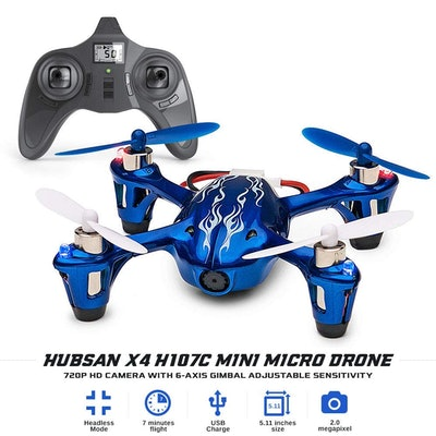 Hubsan X4 H107C Mini Micro Drone for Kids, 720P HD Camera