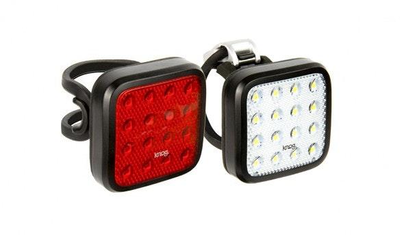 Knog Blinder Kid Grid Front and Rear lights