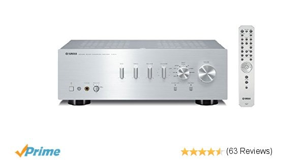 Yamaha A-S701SL Natural Sound Integrated Stereo Amplifier