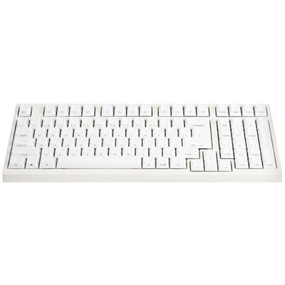 Leopold FC980M White PBT Mechanical Keyboard (Silent Red Cherry MX)