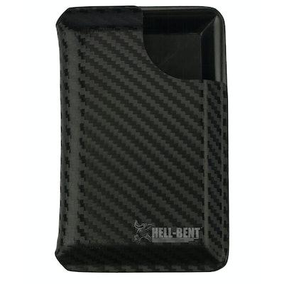 Hell-Bent® Carbon Fiber Wallet - Black