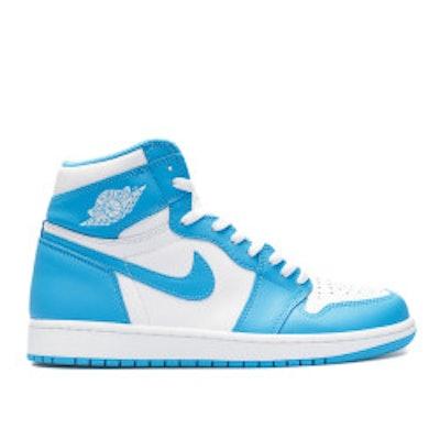 "Air Jordan 1 Retro High Og ""unc"" - Air Jordan - 555088 117 - white/dk powder blu"