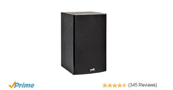 Amazon.com: Polk Audio T15 Bookshelf Speakers, Pair, Black: Electronics