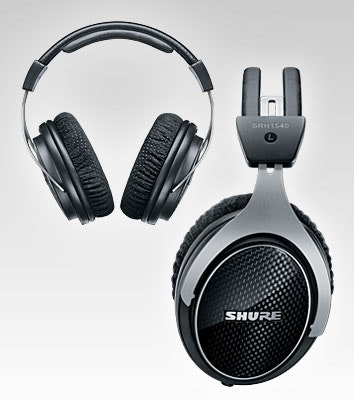 SRH1540 Premium Closed-Back Headphones | Shure Americas